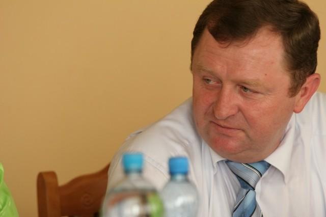 Wójt Jacek Czerwiński.