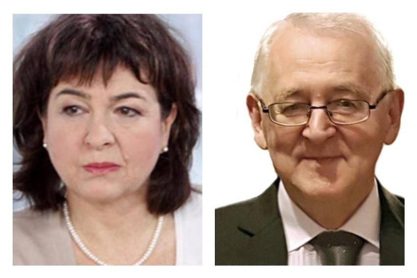 Dr Dorota Sienkiewicz i prof. Ryszard Rutkowski
