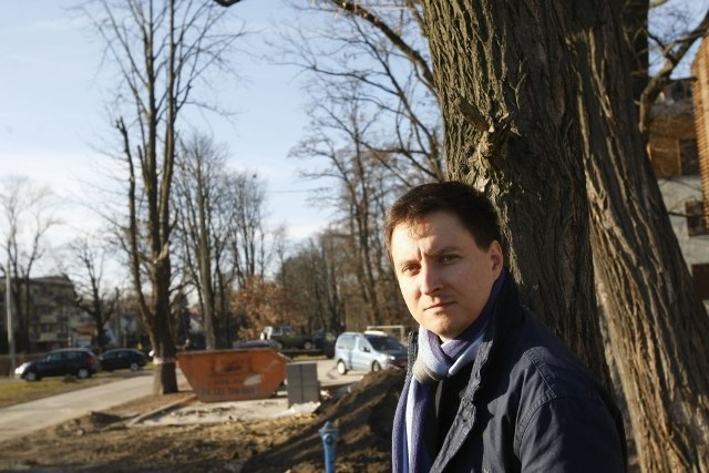 Radny Sebastian Lorenc