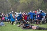 Wielka bitwa rycerzy na wyspie Bolko w Opolu