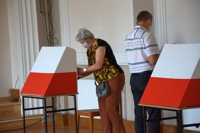 Wybory prezydenckie 2020 w Kluczborku.