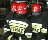 Pożar  przy ul. Belgijskiej. Zapalił się piec, jedna osoba podtruta tlenkiem węgla