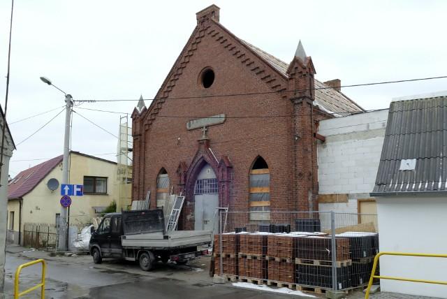 Trwa remont kościoła ewangelickiego przy ulicy Rybackiej w Więcborku. Obiekt adaptowany jest na centrum aktywności lokalnej