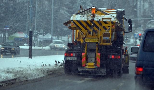 W Lublinie stałym zimowym utrzymaniem jest objętych 550,6 km (z 633,6 km) miejskich dróg