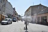 Orzeźwiająca mgiełka na ulicy Śniadeckich w Żninie [zdjecia]