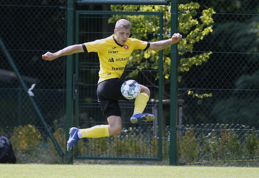 Konrad Gutowski stracił etat w drużynie Widzewa