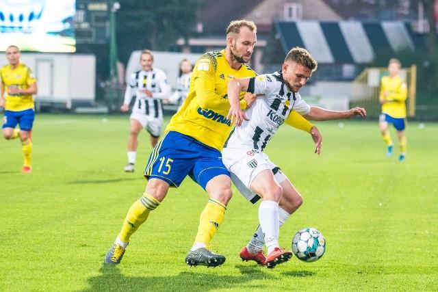 Arka Gdynia pewnie wygrała z Sandecją w Nowym Sączu, wracając na zwycięską ścieżkę także w Fortuna 1. Lidze.