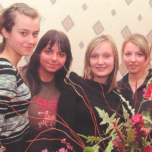 Zuzanna Grzegorczyk, Jola Sobierańska, Agnieszka Wojnarowska i Żaneta Jaworska andrzejki spędzą z najbliższymi przyjaciółkami.