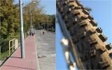 Rowerzyści: to jest absurd! Lampy na środku ścieżki rowerowej