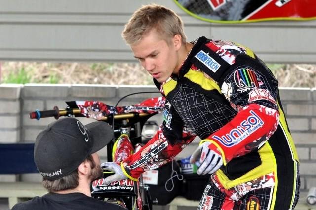 Szwed Oliver Berntzon imponuje w tym sezonie formą.