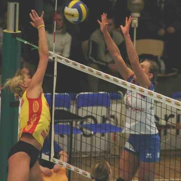Mielczanki nie mogły powstrzymać liderki kaliskiej drużyny Anny Barańskiej.