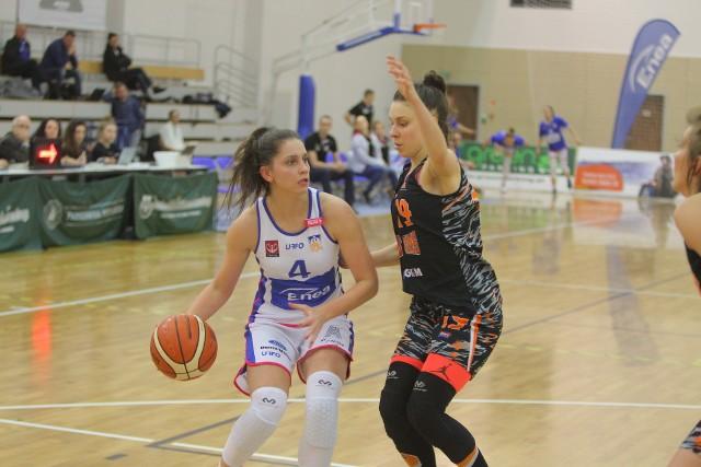Kinga Woźniak zdobyła w niedzielnym meczu dla Enei AZS 22 punkty