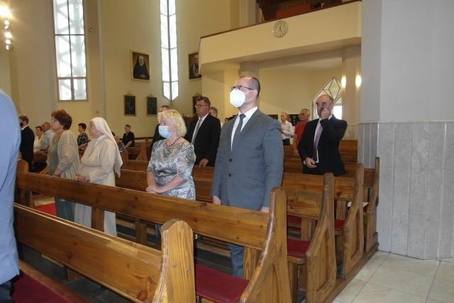 Odprawiono mszę świętą w intencji ofiar w Sanktuarium...