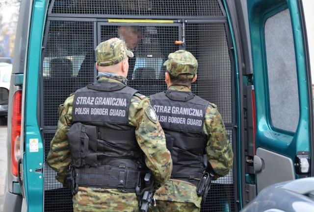 Stanisław M zatrzymany przez straż graniczną
