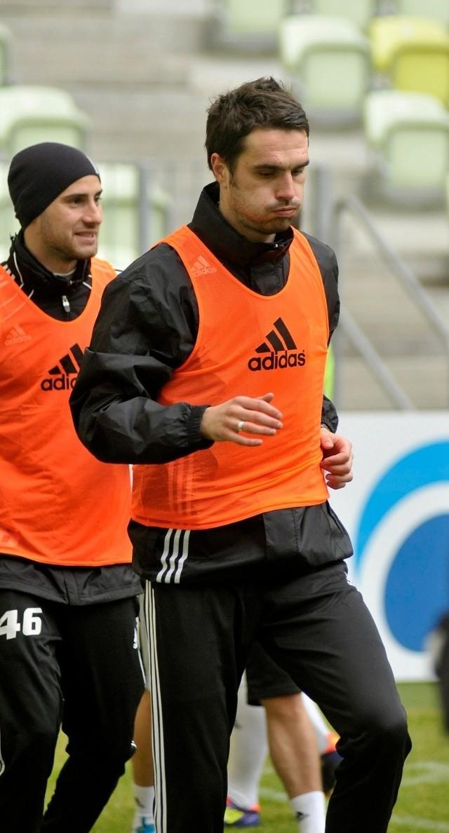 Sebastian Madera strzelił dla Lechii pierwszą bramkę w roku 2014