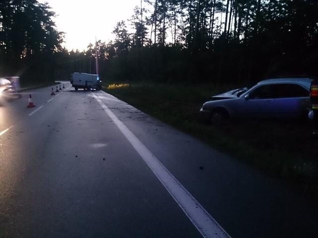 15 lipca, około godz. 21, do wypadku drogowego doszło na trasie Chorzele- Jednorożec.