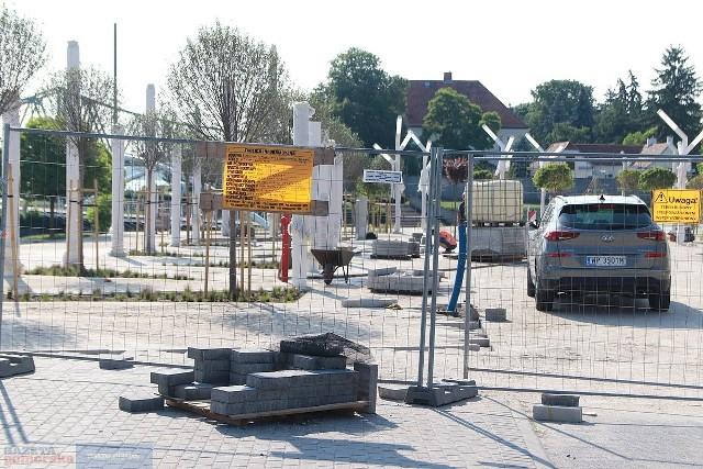 We Włocławku trwa przebudowa ul. Piwnej. Prace mają zakończyć się na początku lipca