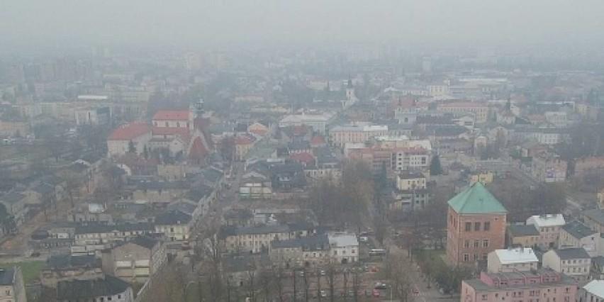 Piotrków Trybunalski - 86 dni ze smogiem w roku 2016...