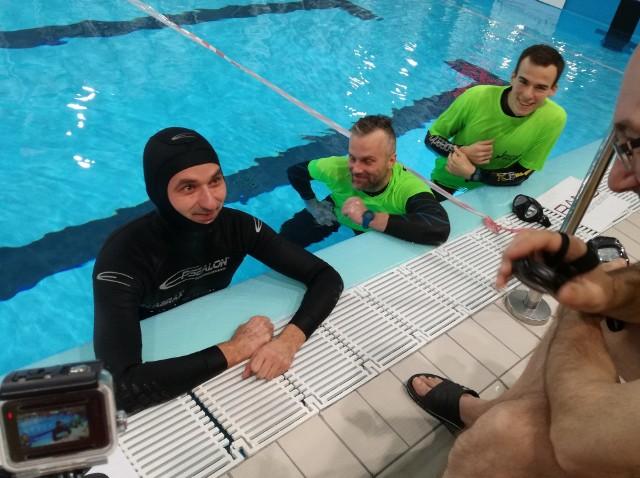 Zawody w Rybniku we freedivingu