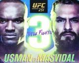 UFC 251. WYNIKI gali UFC w Abu Zabi. Wygrane Tybury i Usmana 12.07