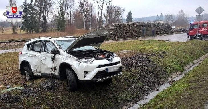 Do zdarzenia doprowadził kierowca toyoty. Został ukarany mandatem