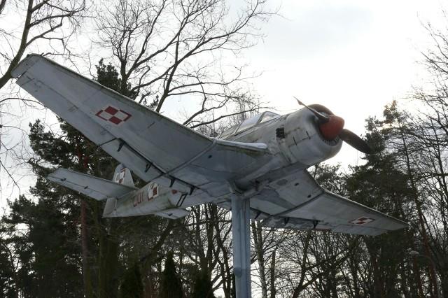Samolot szkolno-treningowy TS-8 Bies - Gdynia, Babie Doły