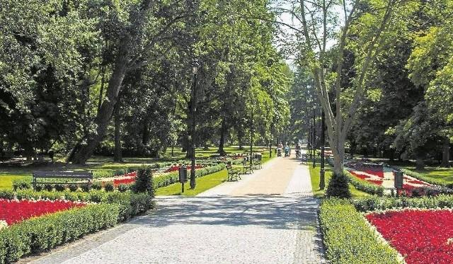 Parque del balneario Świnoujście