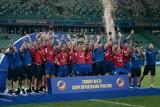 Raków Częstochowa zdobył Superpuchar! Zobacz ZDJĘCIA z fety Rakowa na stadionie Legii Warszawa