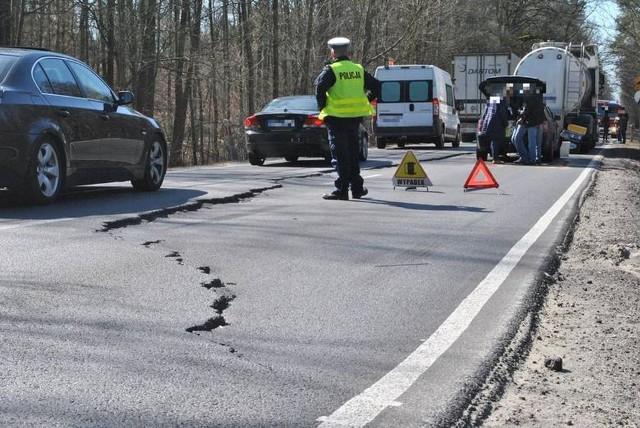 Przed tygodniem, w Tamie Brodzkiej doszło do zderzenia trzech aut