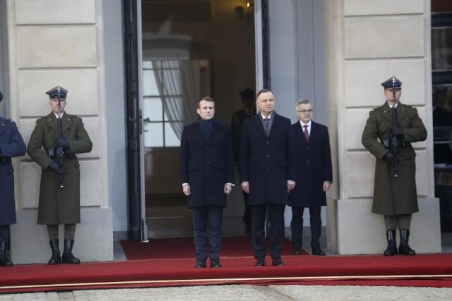 Prezydent Francji był w Polsce w dniach 3-4 lutego 2020 r. Odwiedził Warszawę i Kraków