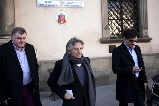 W czwartek Roman Polański odwiedził krakowski magistrat, gdzie miał się spotkać z Magdaleną Sroką, wiceprezydent Krakowa ds. kultury