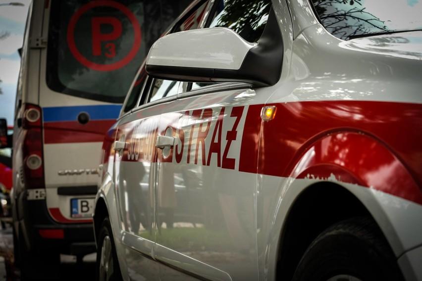 Rutki-Kossaki. Wypadek na przejściu dla pieszych. 18-latka potrąciła 4-latkę