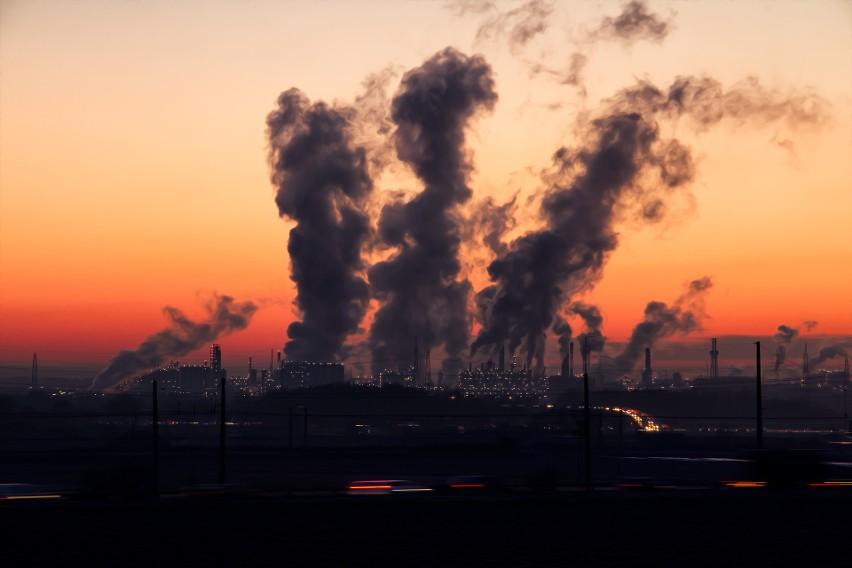 Zanieczyszczenie powietrza...
