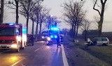 Wypadek pod Wrocławiem. Jedna osoba nie żyje, 6 rannych (ZDJĘCIA)