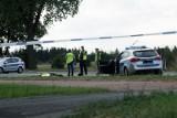 Śmiertelny wypadek pod Łęczycą. 33-latek zginął po tym jak dachowało seicento
