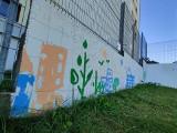 Gdynia: Sąsiedzki mural powstaje na Witominie. Malują go sami mieszkańcy