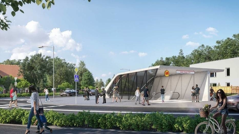 Metro Na Brodnie Jak Bedzie Wygladac Niebawem Rusza Budowa