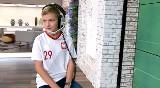 12-letni Aleksander Tomkowiak skomentuje mecz Polska – Macedonia Północna