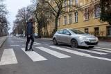 Sprawdziłem, jak w Bydgoszczy reagujemy za kółkiem na pieszego dochodzącego do przejścia