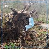 W Tatrach pojawił się nowy rodzaj śmieci - maseczki ochronne