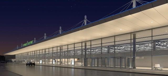 Wizualizacja: tak ma wyglądać nowy terminal w Pyrzowicach