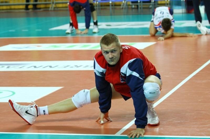 Do wykluczonych z gry przed środowym meczem Ligi Mistrzów dołączył także rozgrywający Paweł Zagumny.