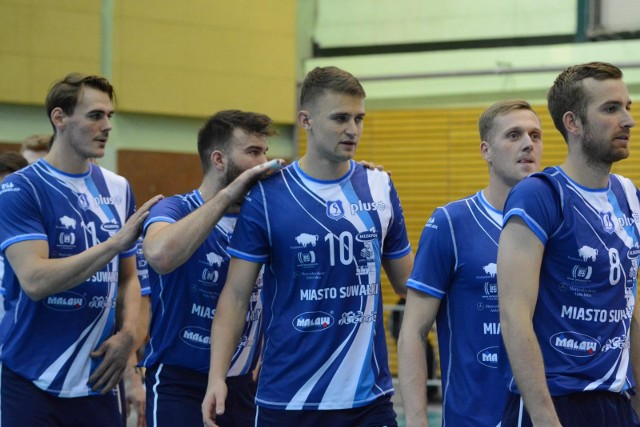 Ślepsk Malow Suwałki przegrał 1:3 ze Skrą Bełchatów