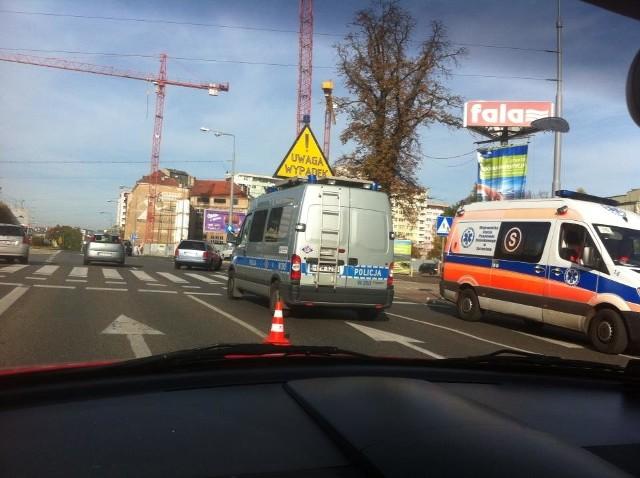 Wypadek na al. Wyzwolenia w Szczecinie