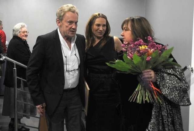 Gościem Tofifestu był również Daniel Olbrychski, który przyjechał na festiwal z żoną - Krystyną Demską-Olbrychską