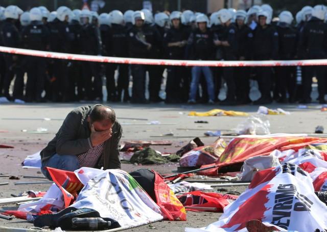 Zamach w Ankarze