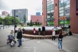 Dzień Dziecka: Największy bęben na świecie przed Galerią Łódzką