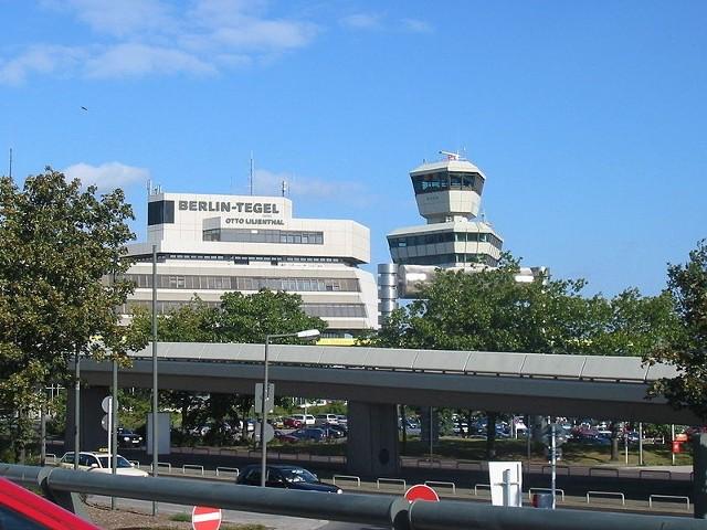 Lotnisko Berlin - Tegel położone jest w zachodniej części stolicy Niemiec