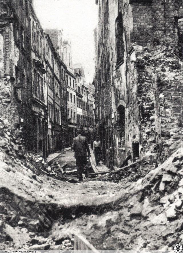 Psie Budy tuż po zakończeniu II wojny światowej - 1945 r.
