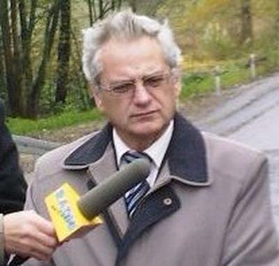 Starosta człuchowski Aleksander Gappa.